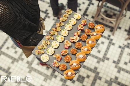Rabble  Canapes
