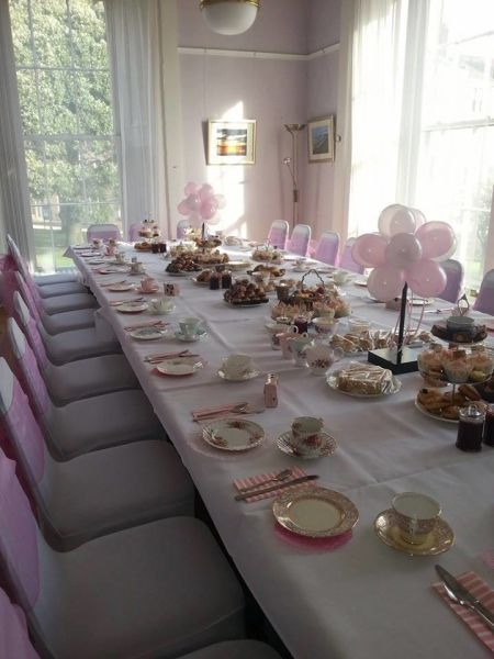 Georgian Town House Function Room Tea party