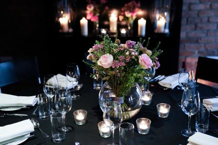 The Wine Room - Master Space Table Decorations