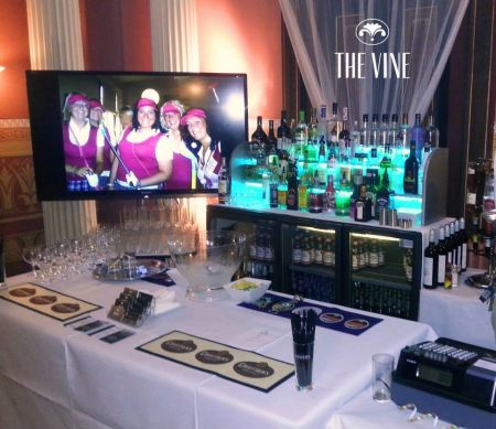Georgian Town House Function Room Full bar service & guest greetin