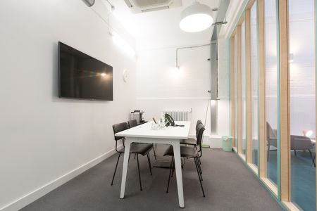 Cool productive meeting room