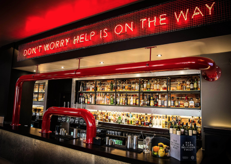 Laid Back Urban Lounge Bar Drinks reception