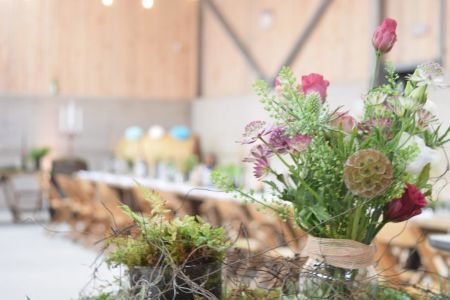 Rustic Romance in the Estate Barn Rustic and romantic style
