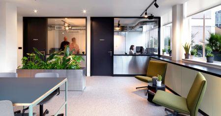 Industrial Chic Meeting Room