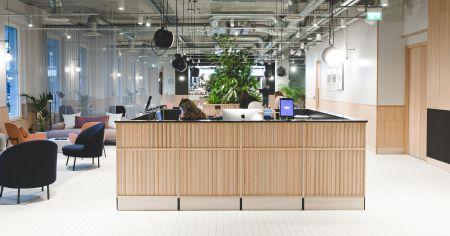 Comfortable & Sleek Office Space