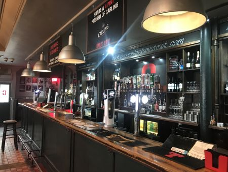 Entire Bar with Stage & Sound