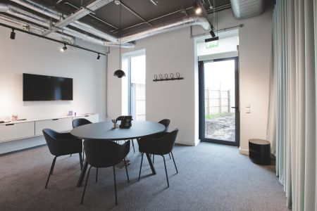 Bright spacious office work room