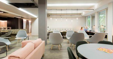 Trendy productivity work-space