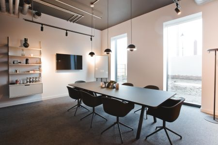 Sleek & Modern Co-Working Space