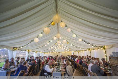 Carrick Castle Estate, Lodge & Barn Marquee Reception