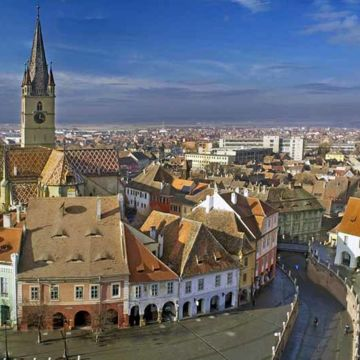 Sibiu Walking tour/ guaranteed daily departure