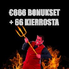 666 Casino bonus -tarjous