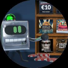 Get Lucky Casino bonus -tarjous