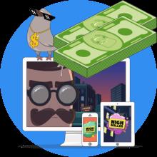 HighRoller casino bonus -tarjous