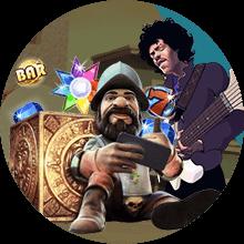 RockstarReels Casino bonus -tarjous