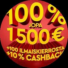 Slotsons bonus -tarjous