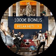 Spin Palace bonus -tarjous
