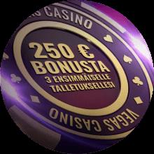 Vegas Casino bonus -tarjous
