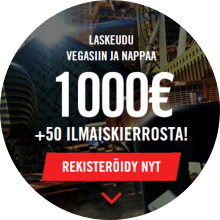 VegasHero bonus -tarjous