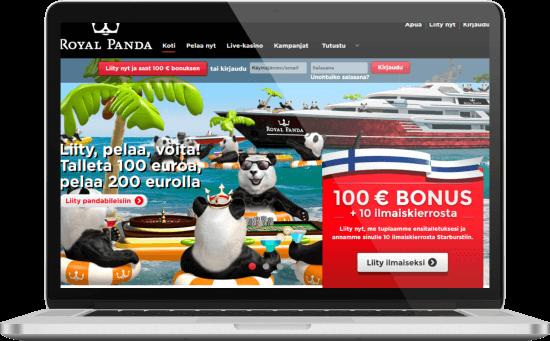 Royal Panda nettikasino
