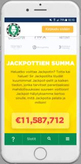 Sir Jackpot Mobiilikasino