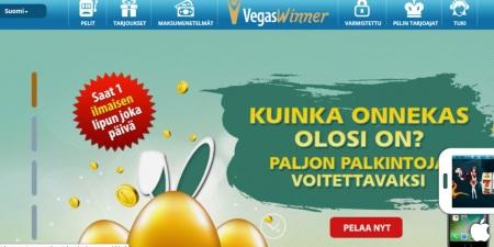 VegasWinner kotisivut