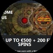 Buran Casino bonus 500 euroa ja 200 ilmaiskierrosta