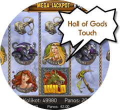 Hall of Gods - mobiilipeli