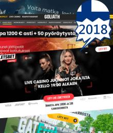 Suomalaiset nettikasinot 2018