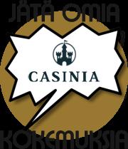 Casinia kokemuksia -Jätä omasi!