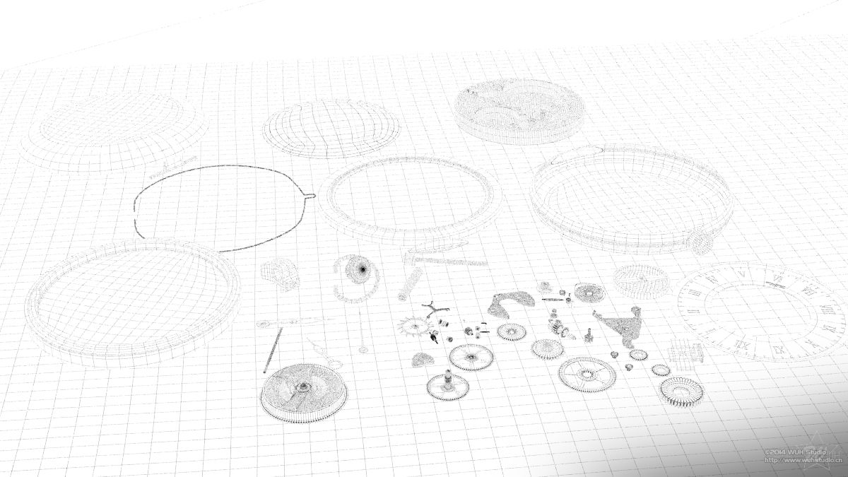 线框及过程图