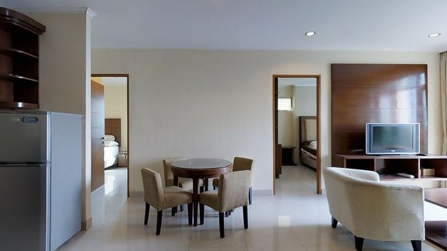 for rent Hamptons Park - Simple furnished and spacious apartment nearby International School in south of Jakarta