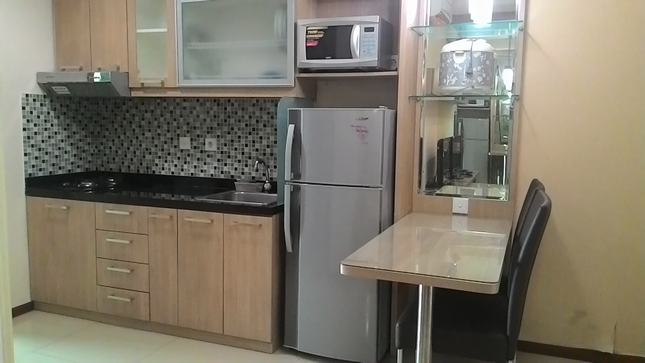 for rent Thamrin Residences - Brand new furnished apartment with minimalist kitchen