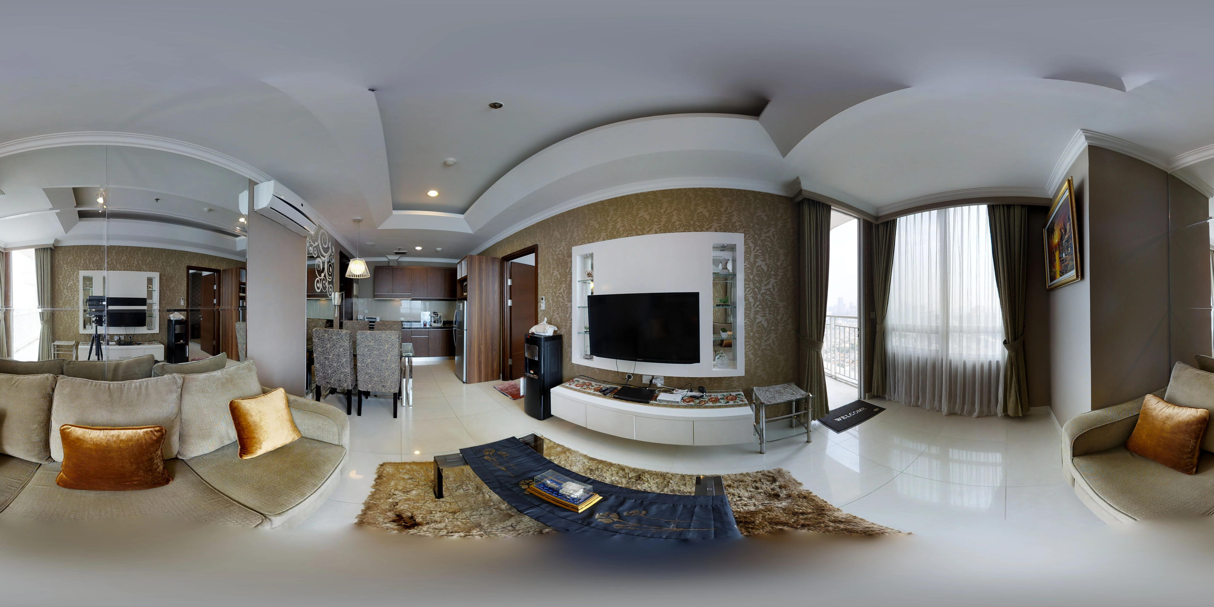 for rent Denpasar Residence - Spacious & Luxurious 1 Bedroom Unit With City View