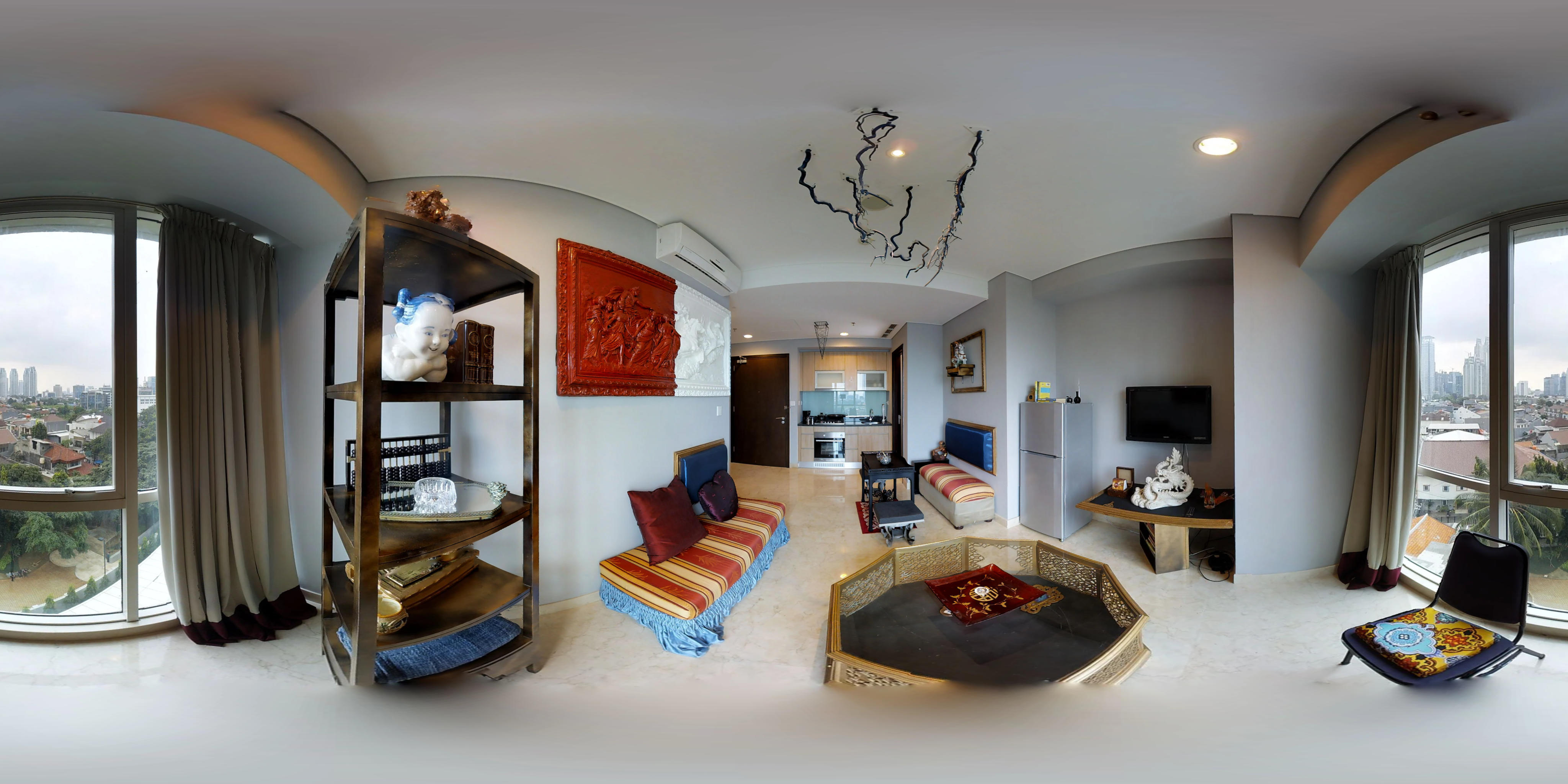 for rent Setiabudi SkyGarden - Artsy and charming apartment