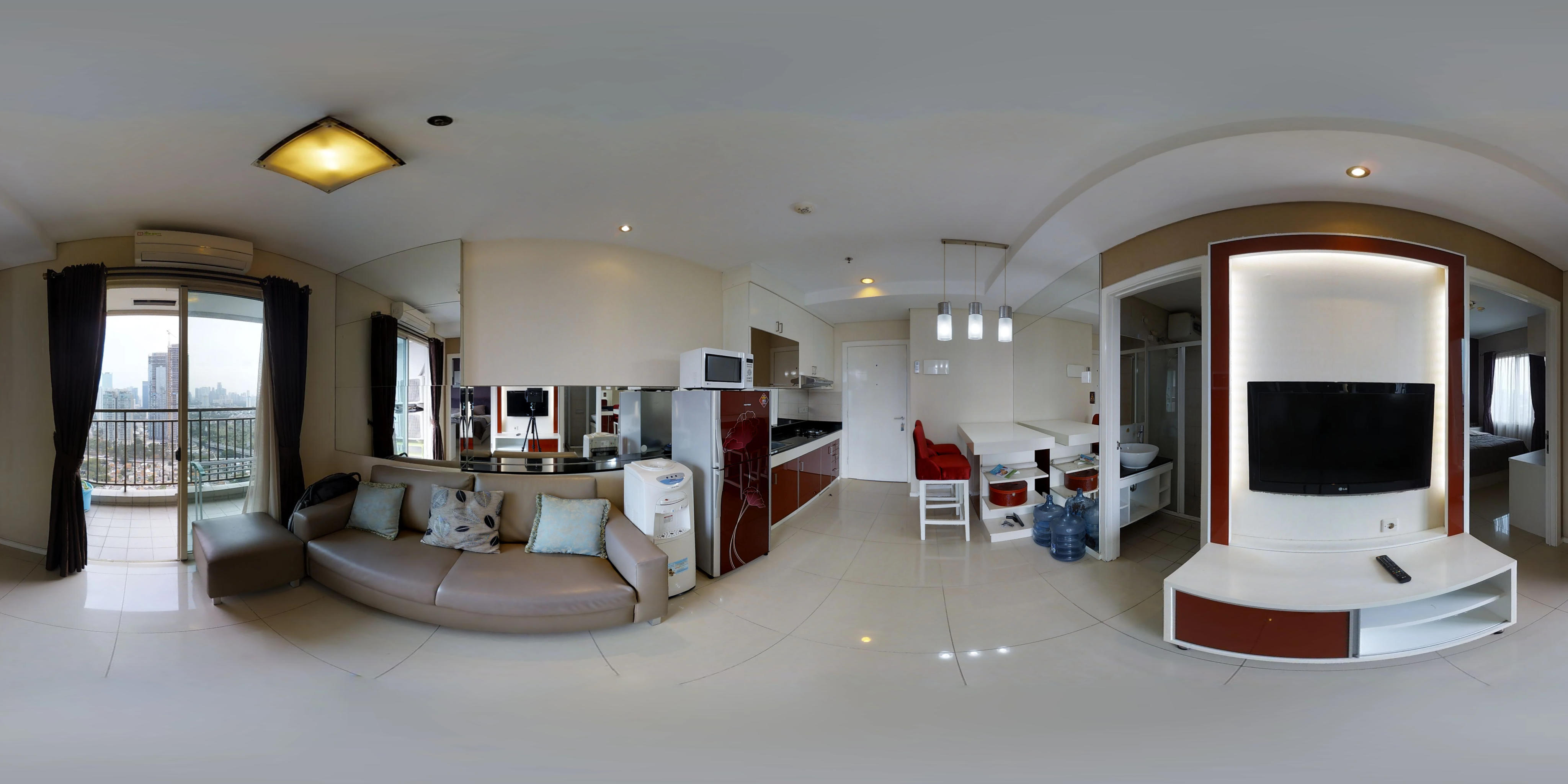 for rent Thamrin Residences - Trendy and bright apartment inner city living