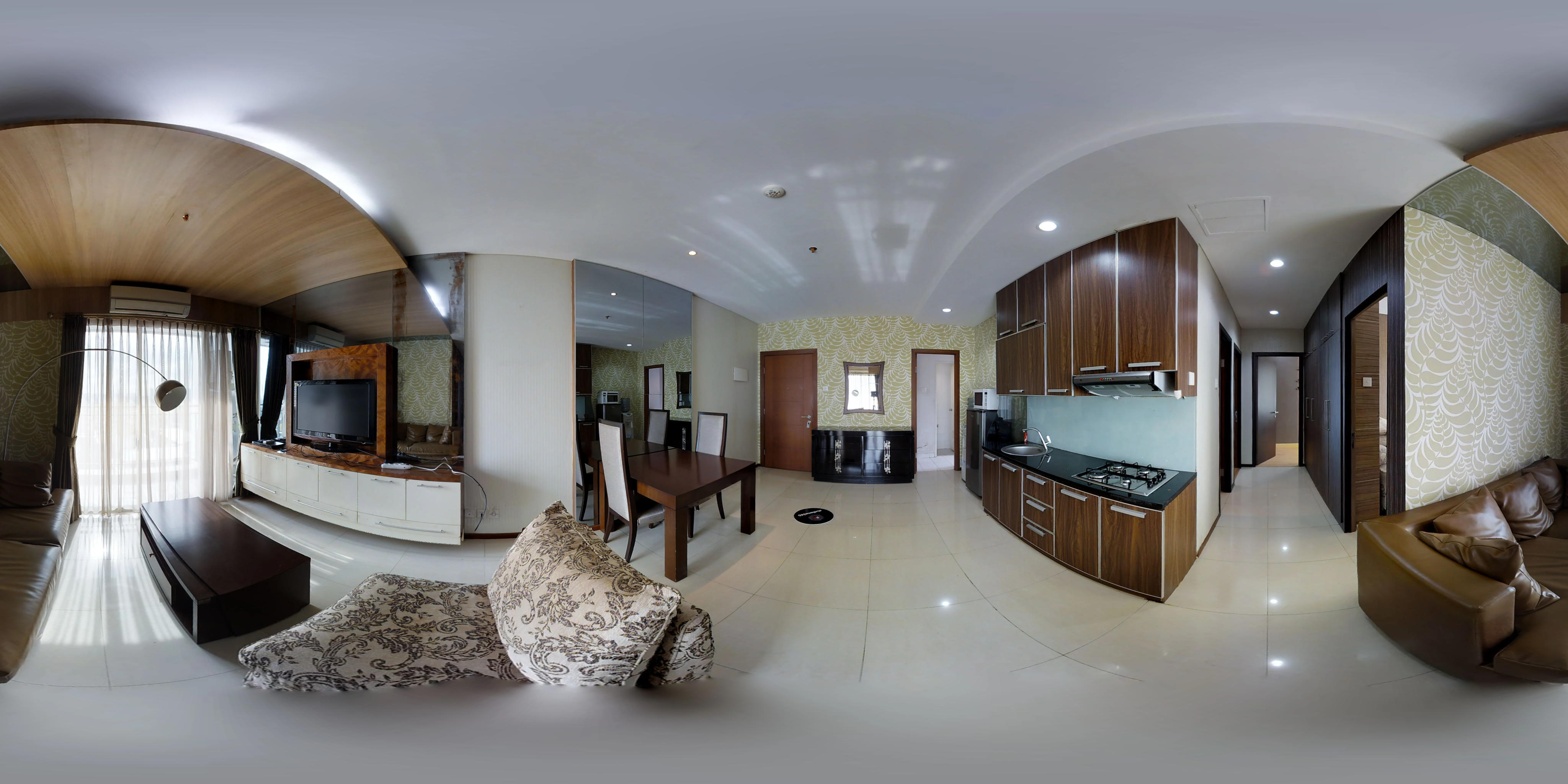 for rent Thamrin Residences - Trendy and bright apartment
