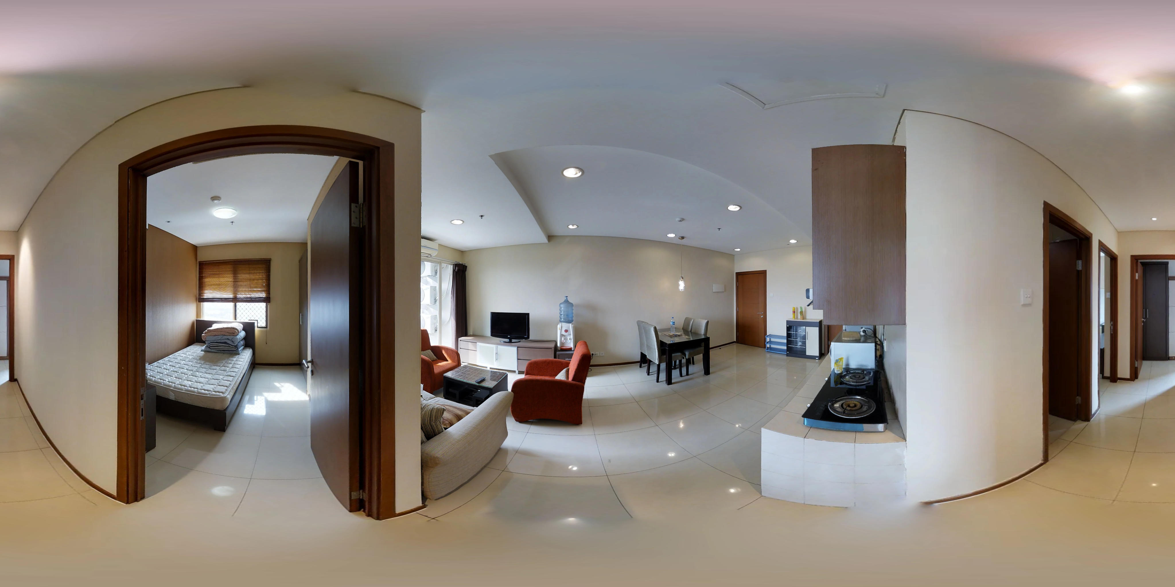 for rent Thamrin Residences - NIce unit with spacious 3 bedroom space