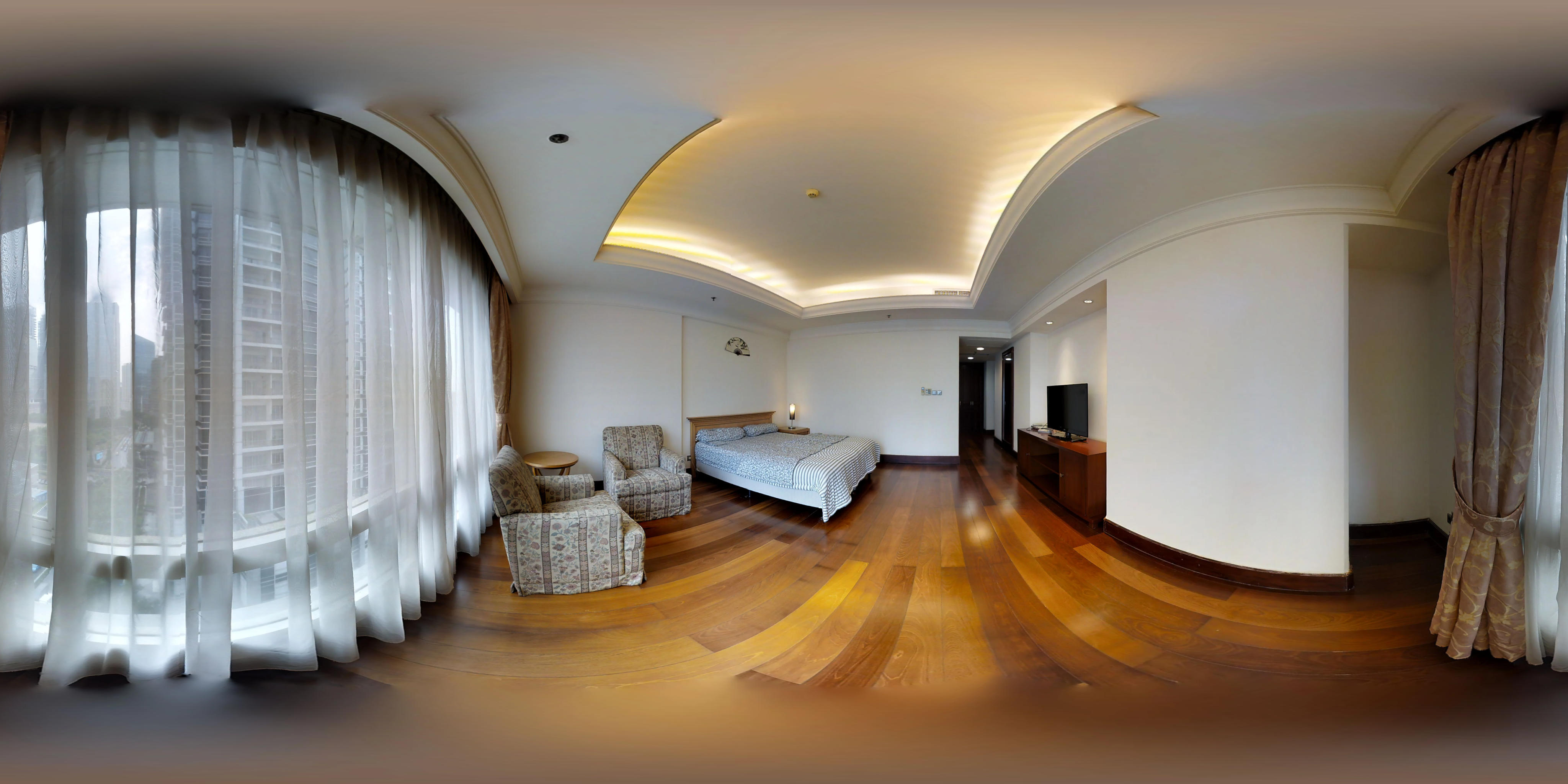 for rent SCBD Suite - Modern design with double bedroom