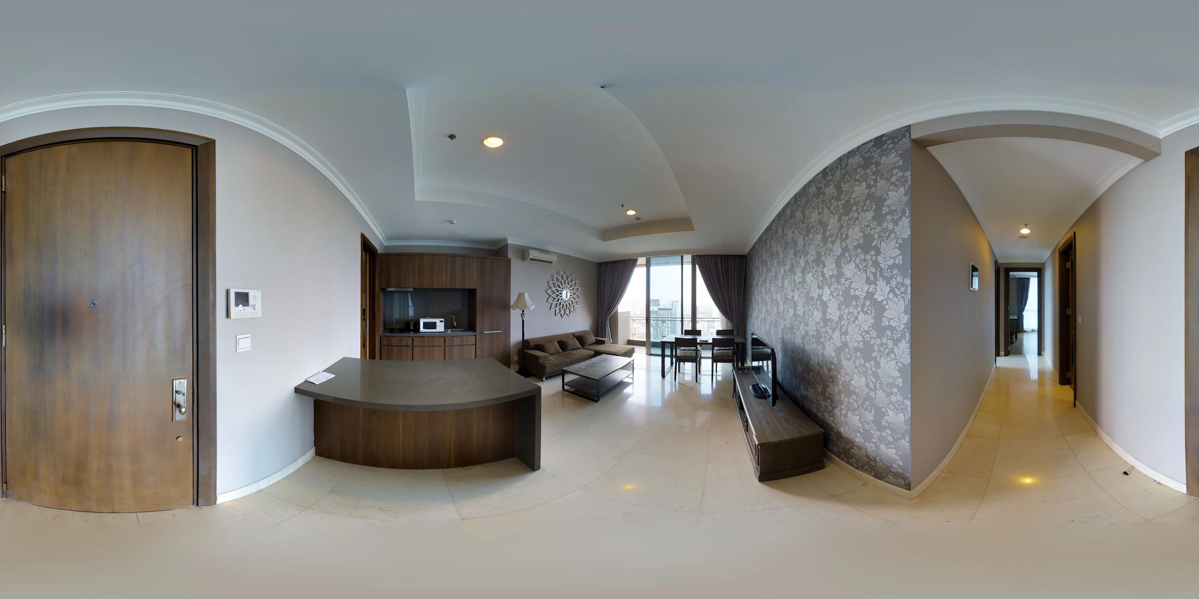 for rent Residence 8 Senopati - Luxurious 2 bedroom apartment with beautiful city view