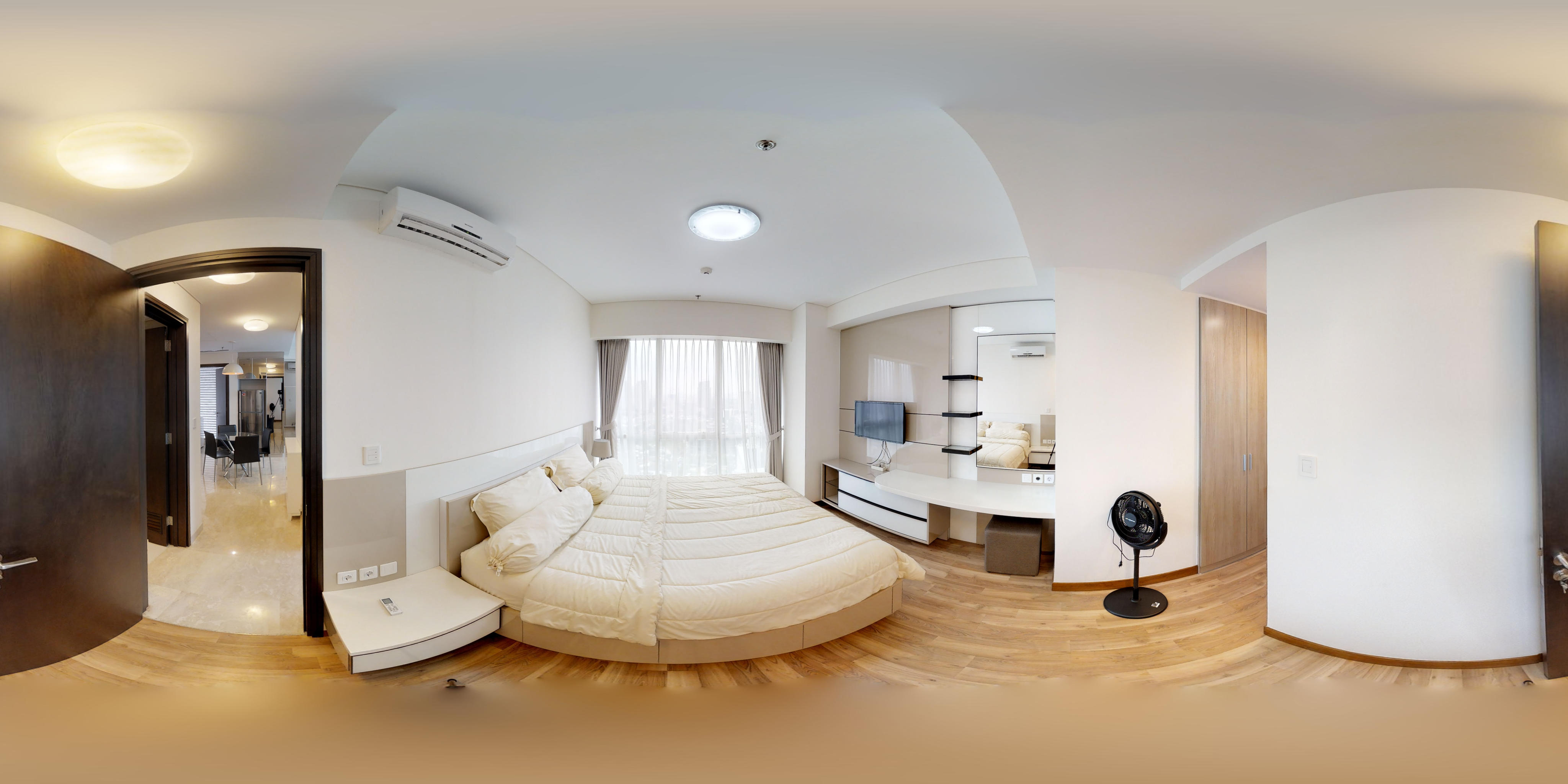 for rent Setiabudi SkyGarden - Bright and clear 2 bedroom unit