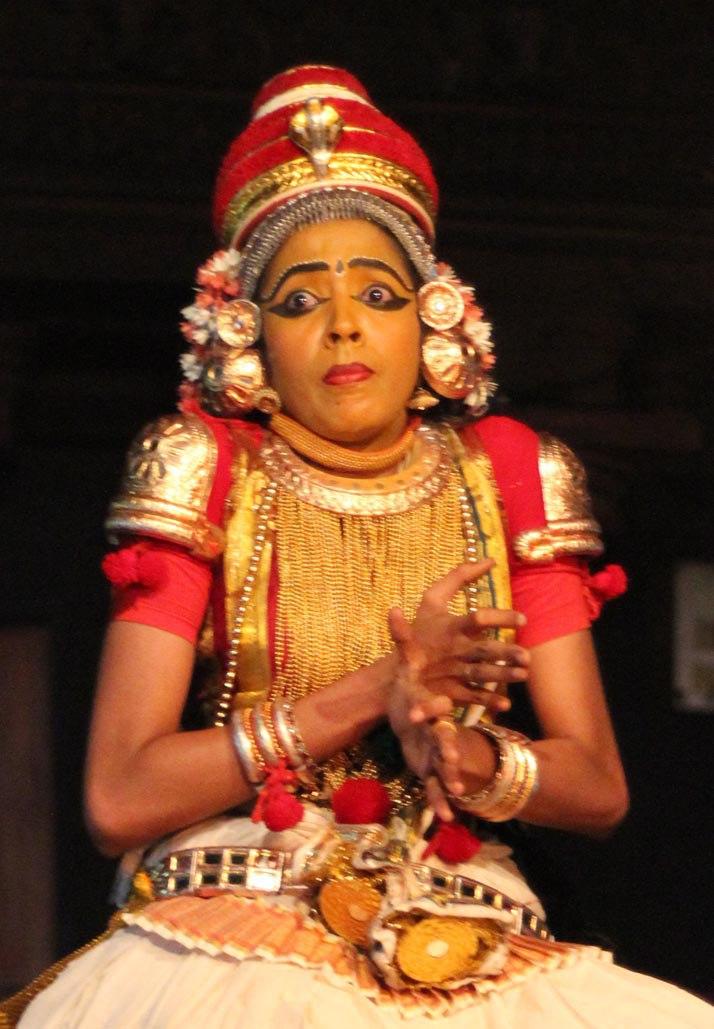Aparna Nangiar, Nangiarkoothu, Kaliyamardhanam 3