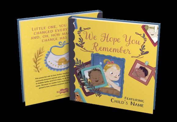 we hope you remember custom childrens book