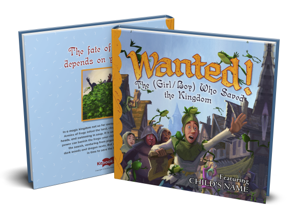 wanted kabook custom childrens book