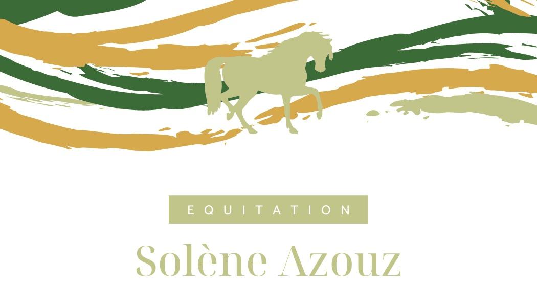photo de couverture -Solène Azouz équitation