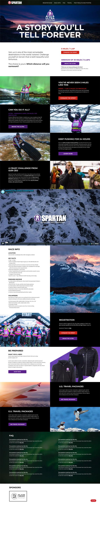 Web Design: Iceland 2018