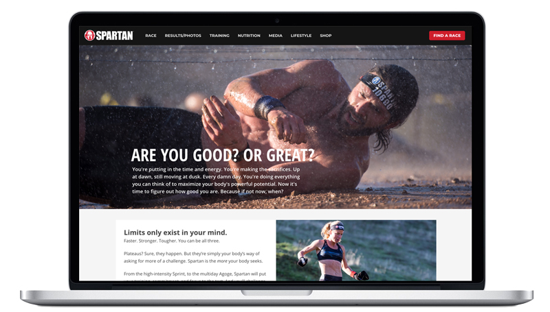 Design, Development: Elite Endurance Landing Page