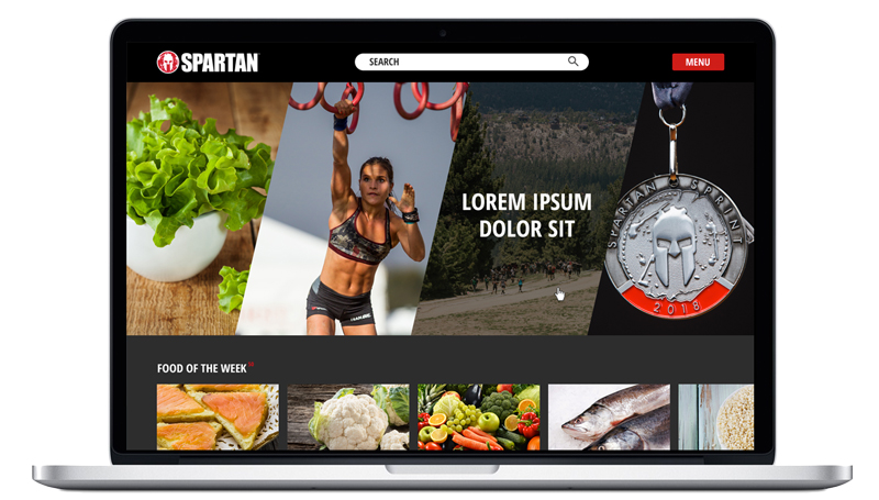 Web Design: Spartan Video