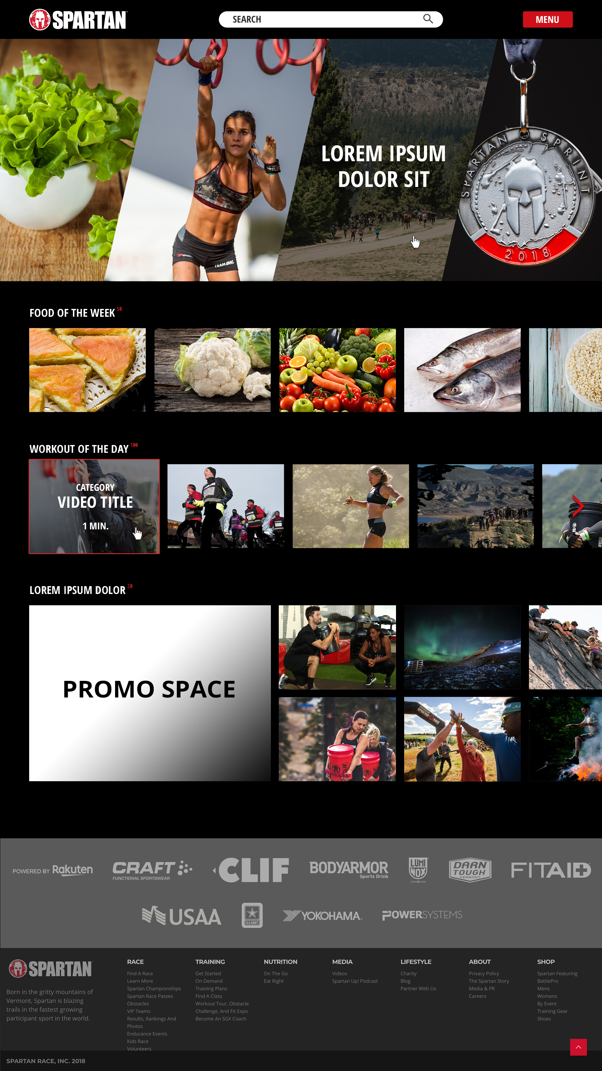 Web Design: Spartan Video