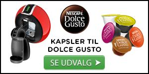 Billede af udvalg af kaffekapsler til Dolce Gusto